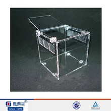 acrylic reptile display cases, clear acrylic reptile tank/cages/boxes
