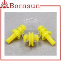 cheap bulk silicone swimming earplugs