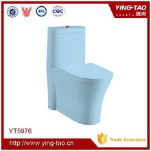 Colorful good quality toilets in blue color blue toilets for sale