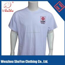 100% cotton cheap men's custom print t-shirt