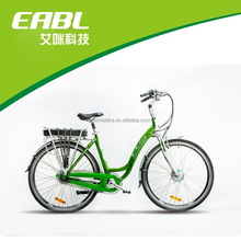 Best selling 700C Lady electric bike/bicycle with lithium battery
