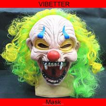 MK-234 Clown grimace face mask Wholesale full Face latex Clown mask