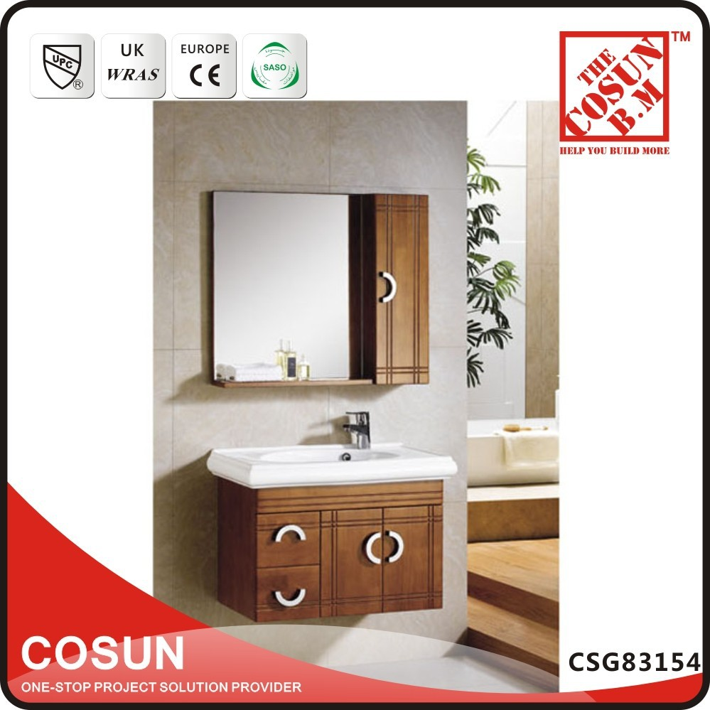 wall mounted wood cabinet for bathroom solid wooden bathroom cabinet