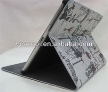 Newest Leather Folio Stand Case for ipad 2 3