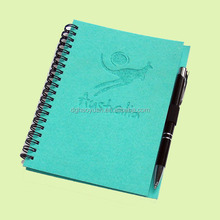 2015 customized spiral bound paper note book