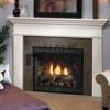 Hongjin Customized FSC White MDF Fireplace Mantel Surround