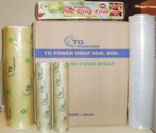 PVC Cling Film &PE Stretch Film