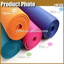 color selection 100% natural yoga mat,Exercise mat latex- free selling yoga mat