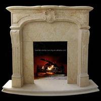 Marble Fireplace Shelf Freestanding Fireplace Mantle SF13
