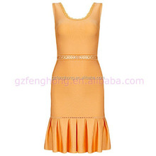 yellow fishitail badage dress party dress evening traditional dresses