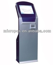 Hot sale touch screen self-service kiosk( Kiosk manufacture Micropos)