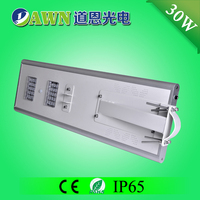 30W 2015 new product waterproof integrated led all in one solar street light solar power