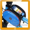 Bike Bicycle Cycling EVA Front Tube Frame Panniers Bag Pouch+Phone Pocket Blue
