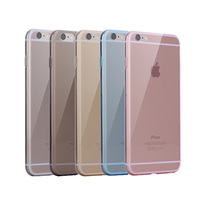 Wholesale Newest fashional high quality Crystal Clear Case For Iphone 6s Transparent TPU Cover,Mix color for iphone 6s TPU case