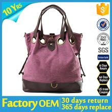 lady canvas handbag, women fashion canvas handbags, leather canvas leather handbags