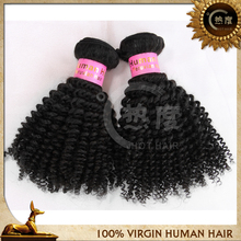 unprocessed virgin human hair wholesale kinky curly micro loop hair extension