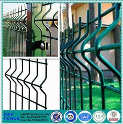 Pvc Coating Decorative Welded / Welding Wire Mesh Fences Factory