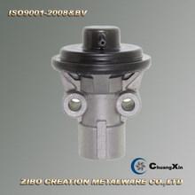 custom cast aluminum variable flow pump cover