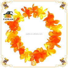 Tropical Head Hawaii Flower Lei for Party