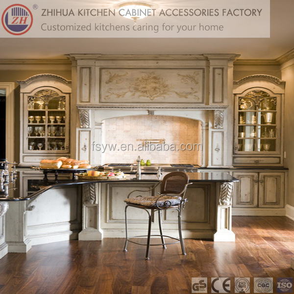 2015 china made palace style kitchen cabinet for sale for Ready made kitchen cabinets for sale