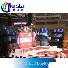 china Full color big LED display SMD3528 3in1 nova LED screen outdoor & indoor multi use LED display P5.95