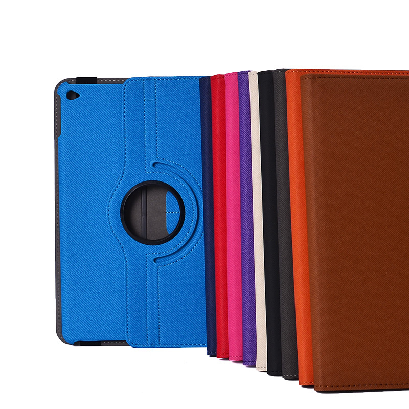 Rotatable Folio tablet cover for apple ipad air 2 leather case