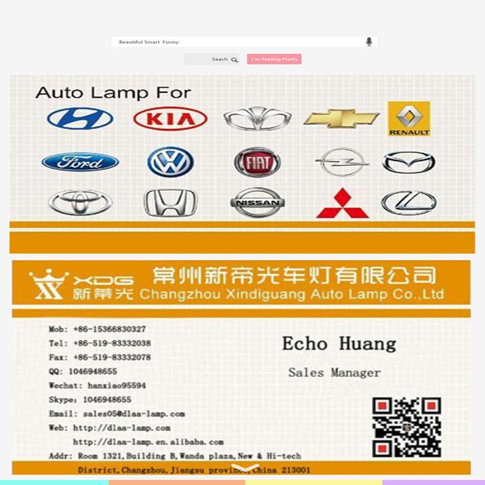 Hot vente nouveau type direct usine corolla 2014 voiture grill
