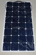 Flexible solar panel, high efficiency sunpower solar panel