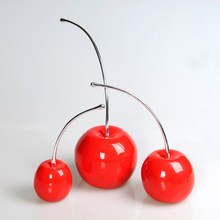 Wholsale Modern And Contracted Cherry Home Decor Cherry Ornament