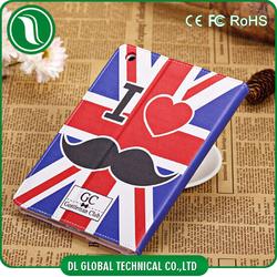 for ipad mini leather flip case, for ipad mini case