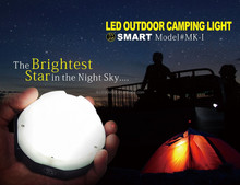 2015 New Concept Outdoor Multifunction LED Camping Light with 60 LED Beads and Battery Charger