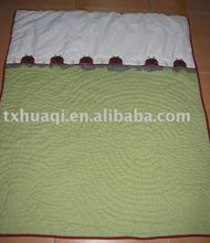 quilted microfiber baby quilt