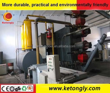 New full automatic continuous waste tire recycling pyrolysis equipment