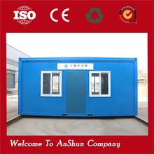 High quality steel frame safe and durable special container house for