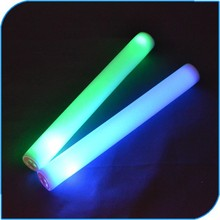2015 Concert Favor Party Gift Led Flashing Light Stick Foam Led Stick Custom Led Light Stick