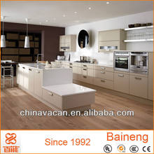 high end kitchen cabinet matt lacquer finish knock down kitchen cabinets