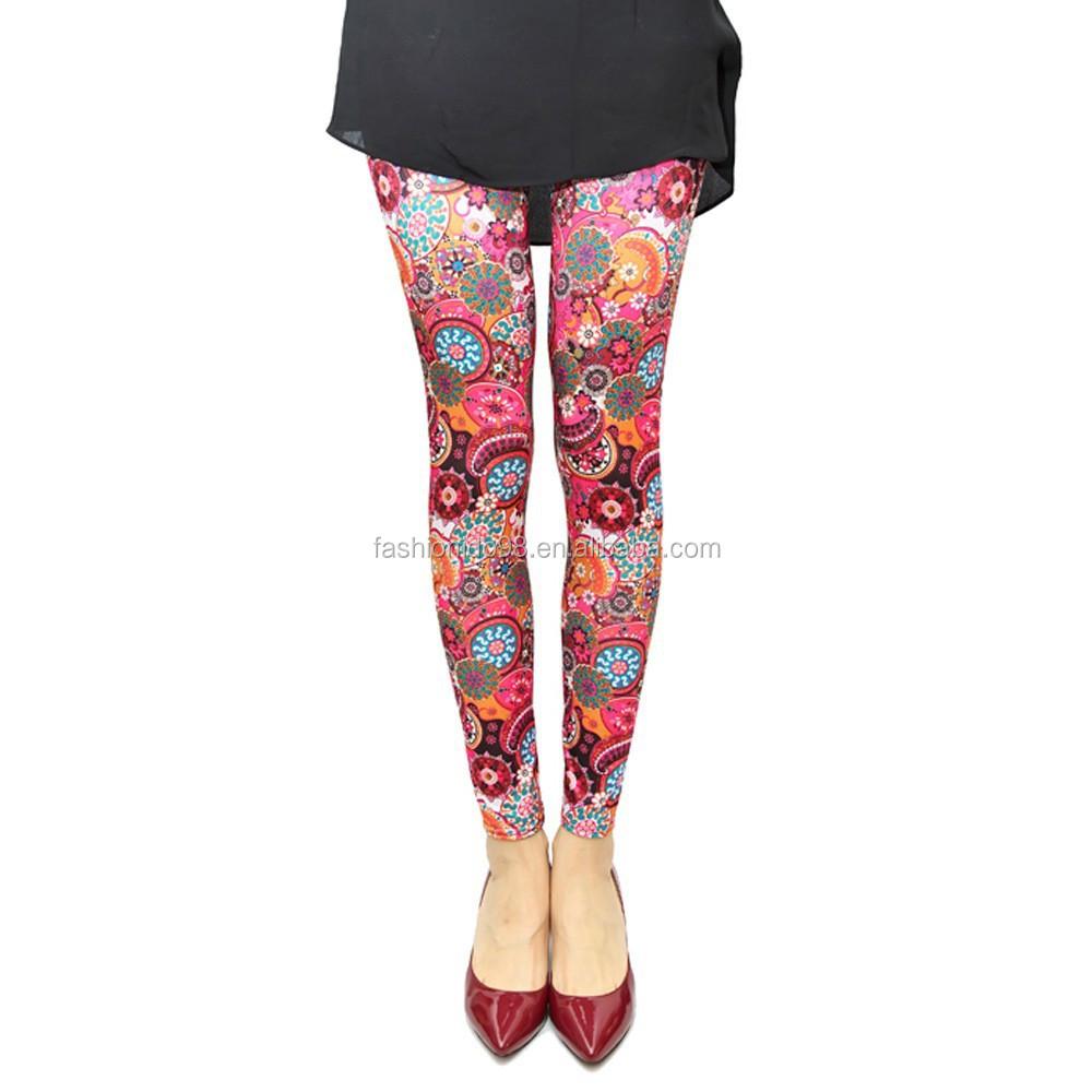 New Design Fashion One Size Fits All Leggings Yiwu Legging Factory - Buy Digital Print Legging ...