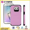 2015 newest TPU+PC case for Galaxy S6 wholesale hybrid case