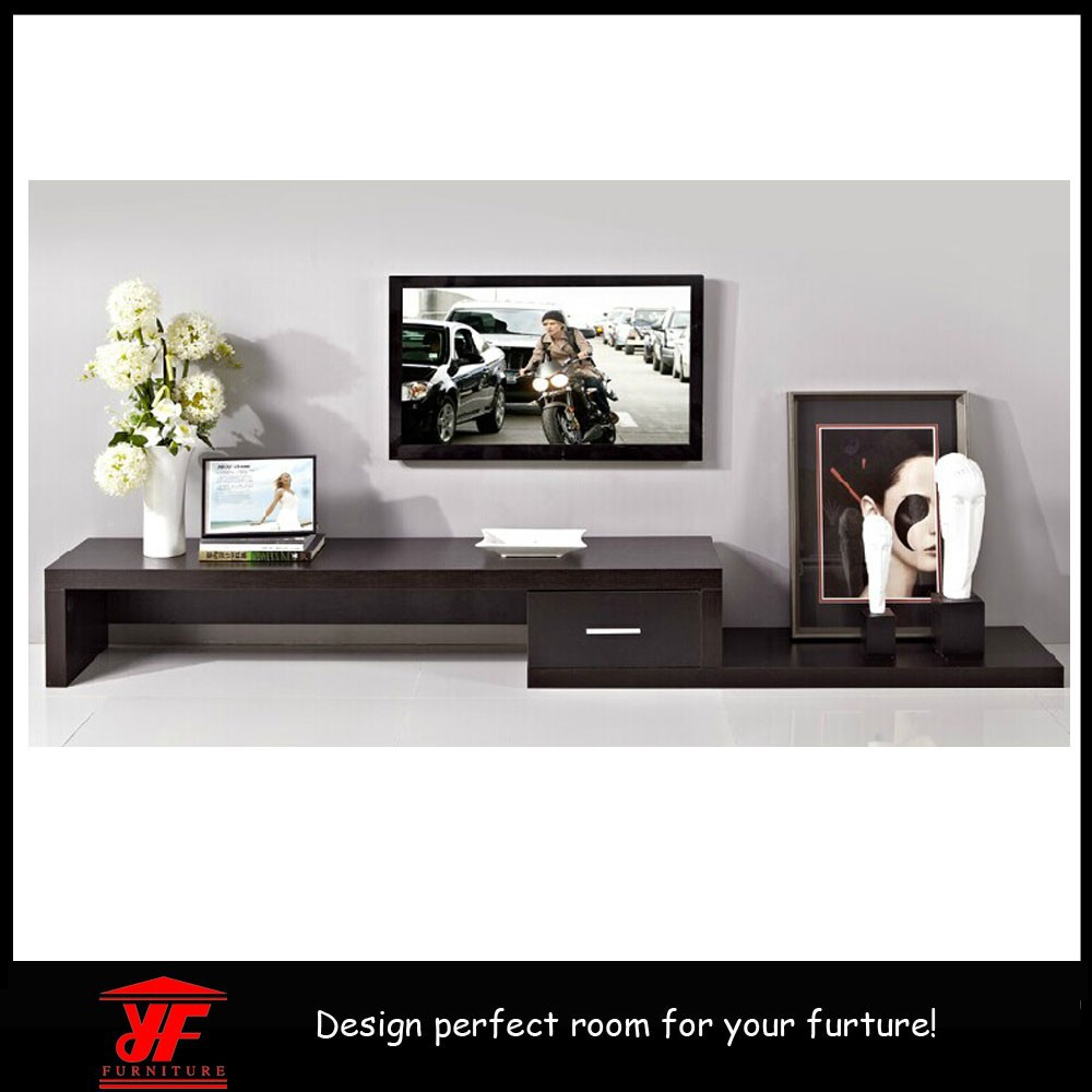 Hot sale simple design modern furniture lcd led tv wall for Simple lcd wall unit designs