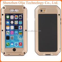 Aluminum Shockproof Gorilla Glass waterproof case for iphone 4, case for iphone 4s waterproof