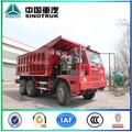 China SINOTRUCK 6 x 4 HOWO camión volquete de minería 371HP 25 ton venta