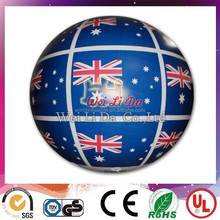 2015 Hot sale inflatable national flag balloon for low price