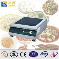 Desktop stainless steel induction toaster oven with hot plate
