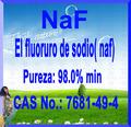 El fluoruro de sodio( naf) Fluoruro de sodio