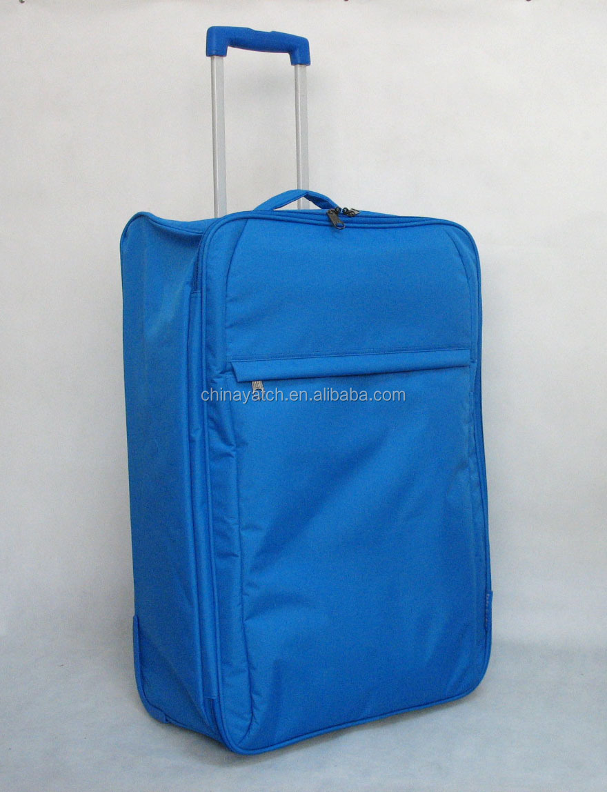 2014 Hot Sales Colorful practical foldable trolley bag with light weight