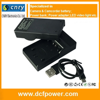 Multifunctional LCD Camera Charger for SANYO DB-L90 DBL90 Exchangeable plates available lcd rapid charger