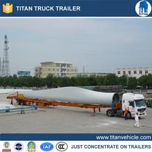 wind blade transporter truck trailer