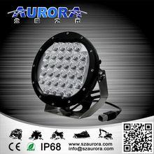 High lifespan China military standard AURORA 7inch 96W round light led headlight for car