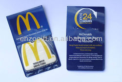 promotion car freshener, scented paper card, air fresheners car paper card