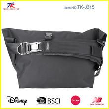 Fashionable tarpaulin bike laptop messenger bag